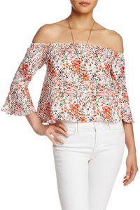 Wild Pearl Bell Sleeves Top Floral