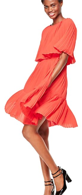 Item - Persimmon Grove Pleated Cape Short Night Out Dress Size 2 (XS)