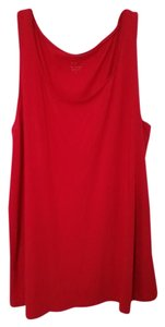 J. Jill A-line Relaxed Fit Top Red