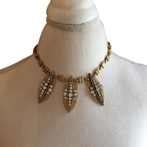 J.Crew Art Deco statement necklace