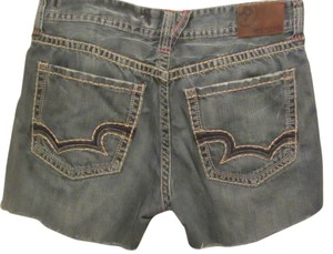 Big Star Cut Off Shorts blue denim