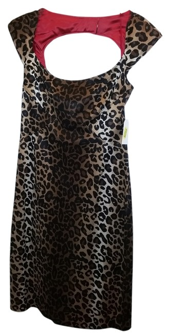 Preload https://item2.tradesy.com/images/jessica-simpson-leopard-pencil-knee-length-cocktail-dress-size-8-m-2118881-0-0.jpg?width=400&height=650