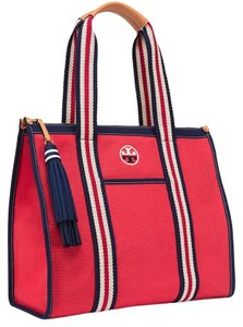 Tory Burch Tote in Cherry Apple