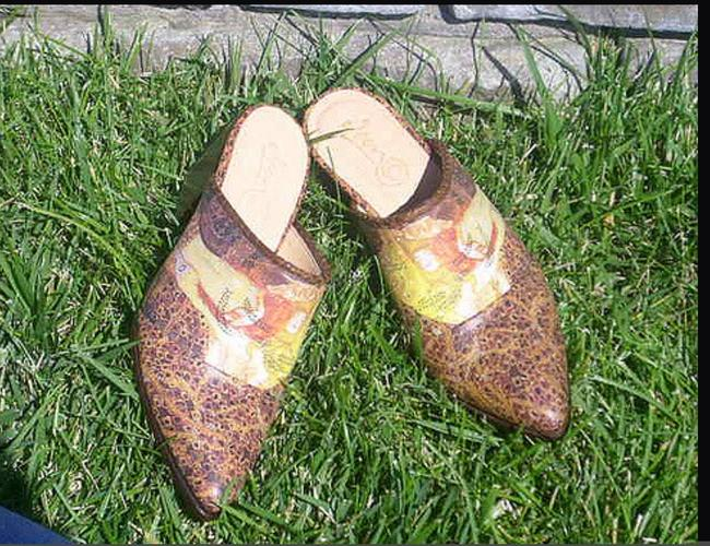 Icon Multi-color Water Serpent Cowboy Mules/Slides Size US 6.5 Regular (M, B) Icon Multi-color Water Serpent Cowboy Mules/Slides Size US 6.5 Regular (M, B) Image 2