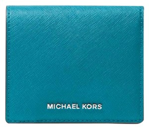 Michael Kors Michael Kors Jet Set Leather Carryall Card Case coin wallet
