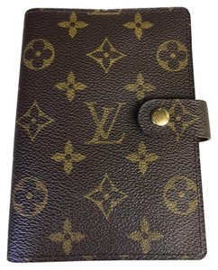 Louis Vuitton * Trusted Tradesy Seller *Agenda PM Monogram Planner Cover w/ Ruler