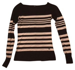 G-Star RAW Top black and white stripes