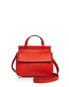 Tory Burch T Mini Mini Crossbody Satchel in Samba Red