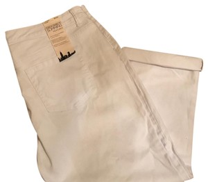 Jones New York Capris white