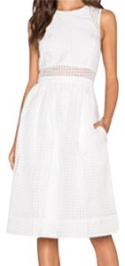Elizabeth and James short dress White on Tradesy