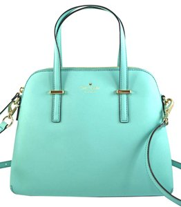 Kate Spade Satchel in fresh air green