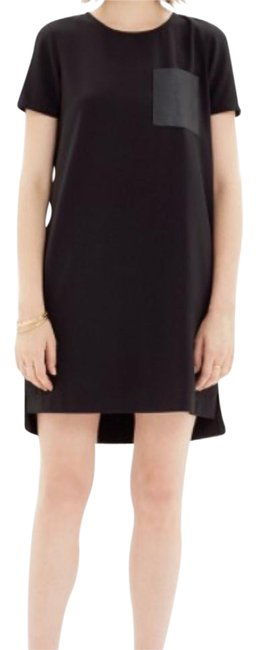 Preload https://img-static.tradesy.com/item/21189662/madewell-black-leather-pocket-t-shirt-short-casual-dress-size-00-xxs-0-1-650-650.jpg
