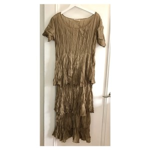 bronze brown Maxi Dress by Holly Lueders