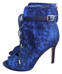 ShoeDazzle black, blue Pumps