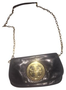 Tory Burch Gold Satchel Cross Body Bag