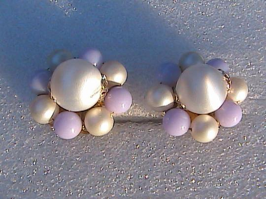 Other Japan Faux Pearl Clip On Earrings