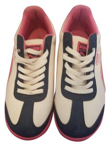 Puma Roma Blue, White, Pink Athletic