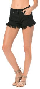 Elan Cut Off Shorts Black