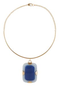Marc by Marc Jacobs New Striking Kandi Gem Pendant Choker Necklace, M0005898 455