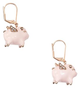 Kate Spade New Kate Spade Imagination Pig Drop Earrings When Pigs Fly