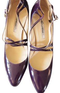 Brian Atwood Heels Strappy Purple Pumps