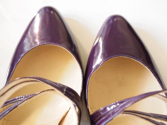 Brian Atwood Heels Strappy Purple Pumps Image 1