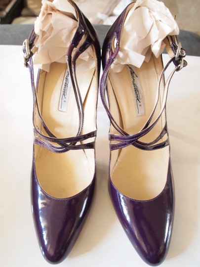 Brian Atwood Heels Strappy Purple Pumps Image 2