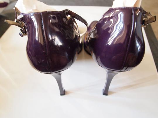 Brian Atwood Heels Strappy Purple Pumps Image 5