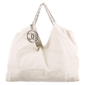Chanel Tote in Ivory White