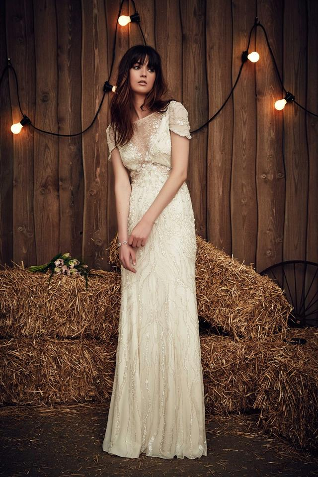 Jenny Packham Nashville Wedding Dress Size 6 (S) - Tradesy
