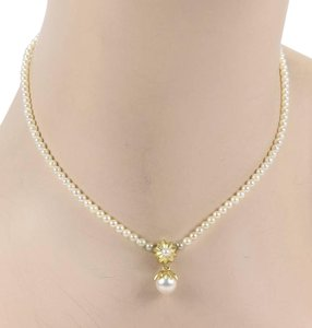 Tiffany & Co. 18kt Yellow Gold & Salt Water Pearl Necklace