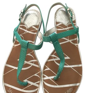 Sam & Libby teal Sandals