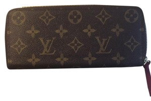 Louis Vuitton Clemente Hot Pink Wallet