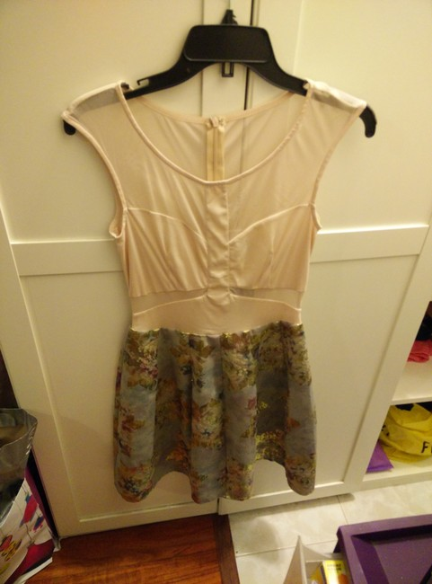 Urban Outfitters short dress Tan on Tradesy