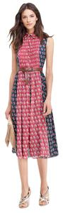 Diane von Furstenberg Sleeveless Silk Floral Dress