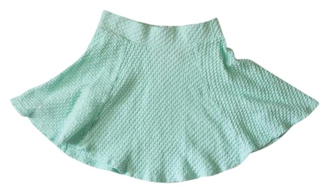 Preload https://item4.tradesy.com/images/divided-by-h-and-m-textured-miniskirt-mint-2119123-0-0.jpg?width=400&height=650