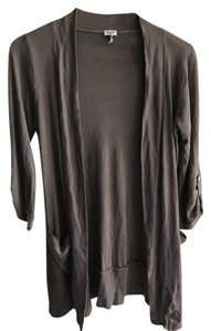 Splendid Lightweight Draped Drapey Cotton Cardigan