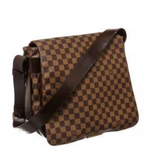 Louis Vuitton Damier Ebene Damier Canvas Messenger Brown Messenger Bag