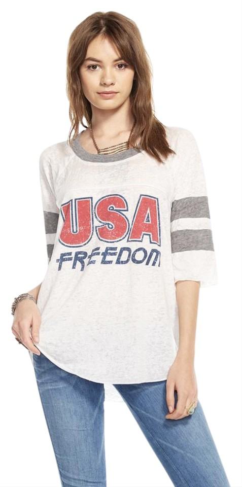 Chaser usa freedom tee t shirt red white and blue 33 for Red and blue t shirt