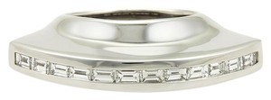 Tiffany & Co. Picasso 1.20ct Diamonds 18k White Gold Flying Saucer Ring Size 6.5