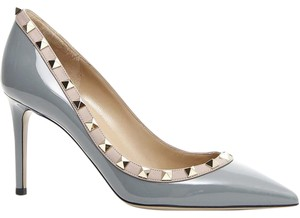 Valentino patent gray Pumps