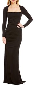 Nicole Miller Collection Felicity Long Sleeve Gown Size 8 Dress