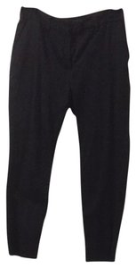 H&M Cotton Pants Capris Black