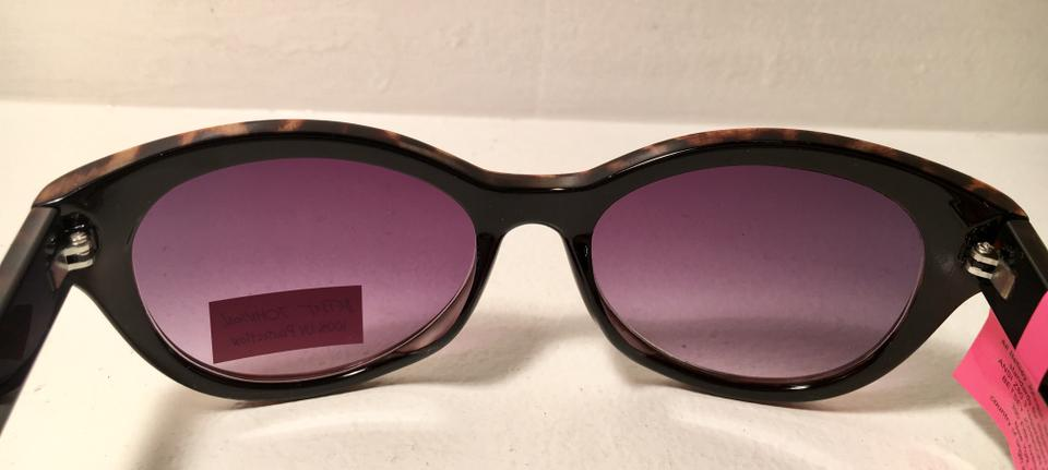 d75597e1a956b Betsey Johnson NWT Leopard Cat Eye Sunglasses Image 5. 123456