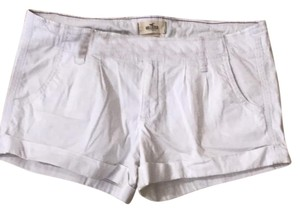 Hollister Cargo Shorts White