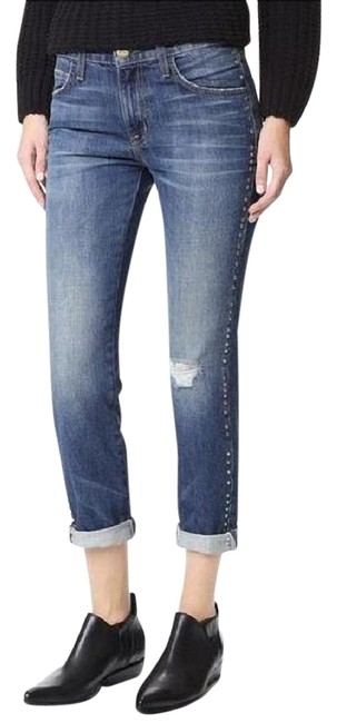 Item - Distressed The Fling Destroy In Whiskey Relaxed Fit Jeans Size 27 (4, S)