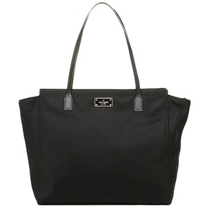 Kate Spade Lightweight Nylon Large Classic Tote in Black