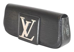 Louis Vuitton Electric Leather Black Clutch