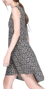 Zara short dress green Backless Back Cut Out Floral Spring on Tradesy