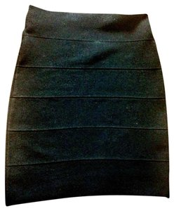 Poof Couture Skirt Black